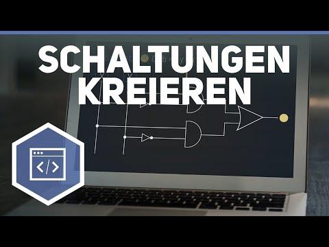 Schaltungen und Schaltnetze kreieren - Logische Bausteine & Schaltnetze 4 from YouTube · Duration:  3 minutes 54 seconds