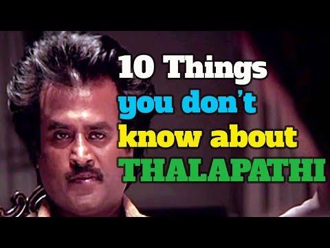 Thalapathi | 10 things you don't know about thalapathi | rajinikanth | maniratnam|Kichdy