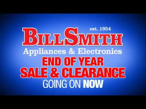 Bill Smith Appliances & Electronics End of Year Sale & Clearance 2016 v1