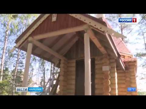 Хирург из Петрозаводска возвел часовню на берегу озера