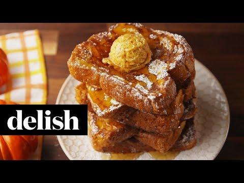 Pumpkin Pie French Toast | Delish