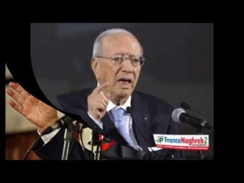 Interview de Béji Caid Essebsi sur France Maghreb 2 , à Paris
