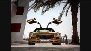 Mercedes Benz SLS AMG Desert Gold 2010 Videos