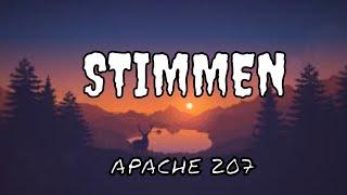 """Apache 207- Stimmen vom Album """"Treppenhaus"""" [Lyrics Video]"""