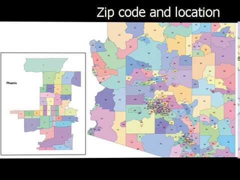 Arizona vector maps