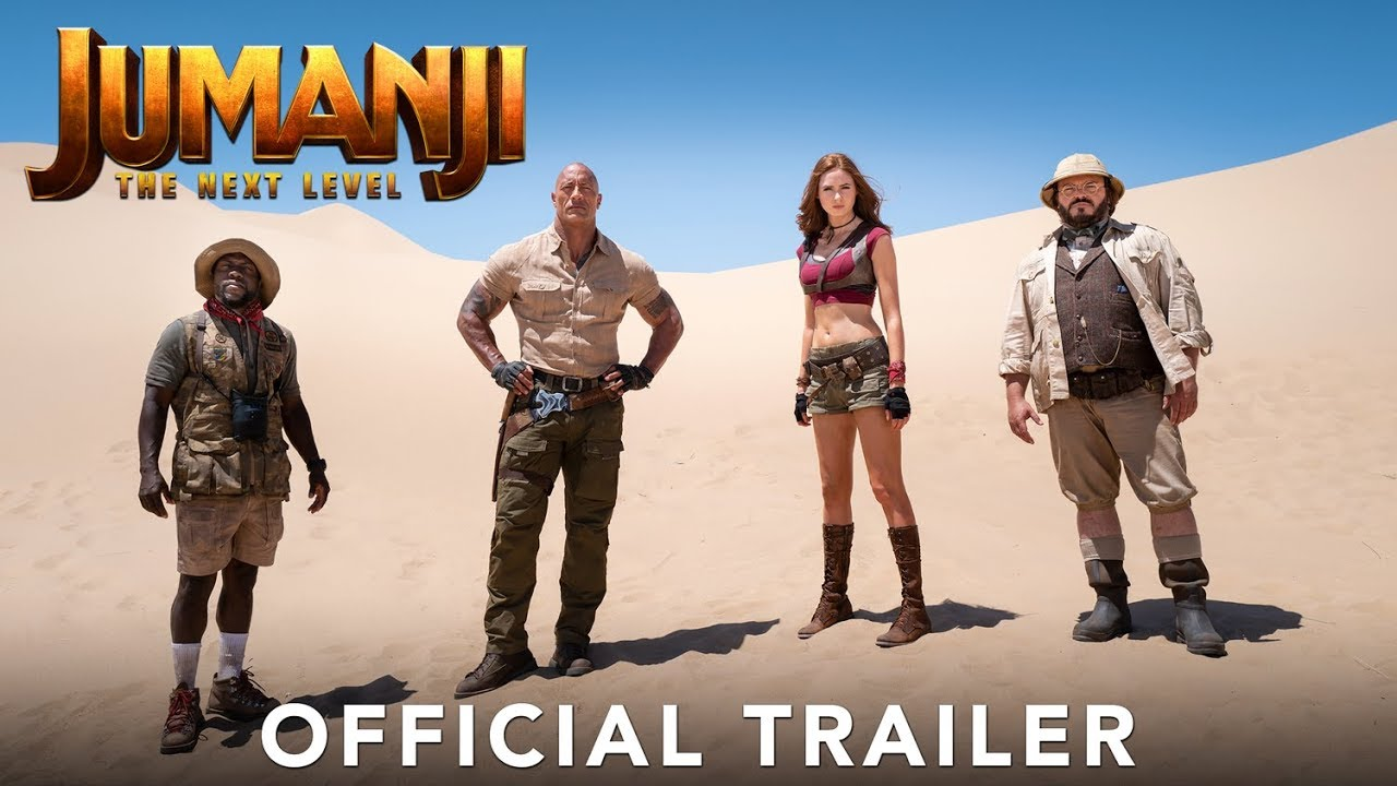 Jumanji The Next Level Official Trailer Available At All Digital Stores Now Youtube