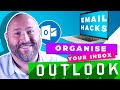 Best way to organise your Outlook Inbox | Tutorial Part 02