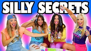 Silly Secrets Best Friend Challenge: We Get Messy with Silly String. Totally TV