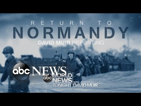 World War II Veterans Make Trek To Normandy For D-Day Anniversary