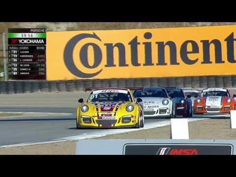 Mazda Raceway 2016 Porsche GT3 Cup Challenge USA by Yokohama TV Broadcast