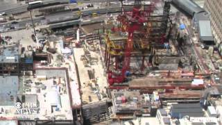 One World Trade Center construction time-lapse video