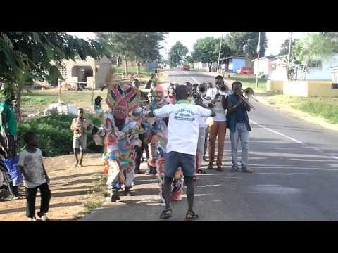 Muscurate Dance in Akwambo Festival - Ajumako De..