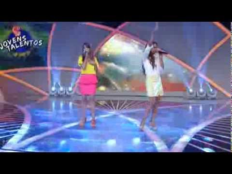 Programa Raul Gil - Naara e Sarah (Não é Tarde) - Jovens Talentos - #JT2013