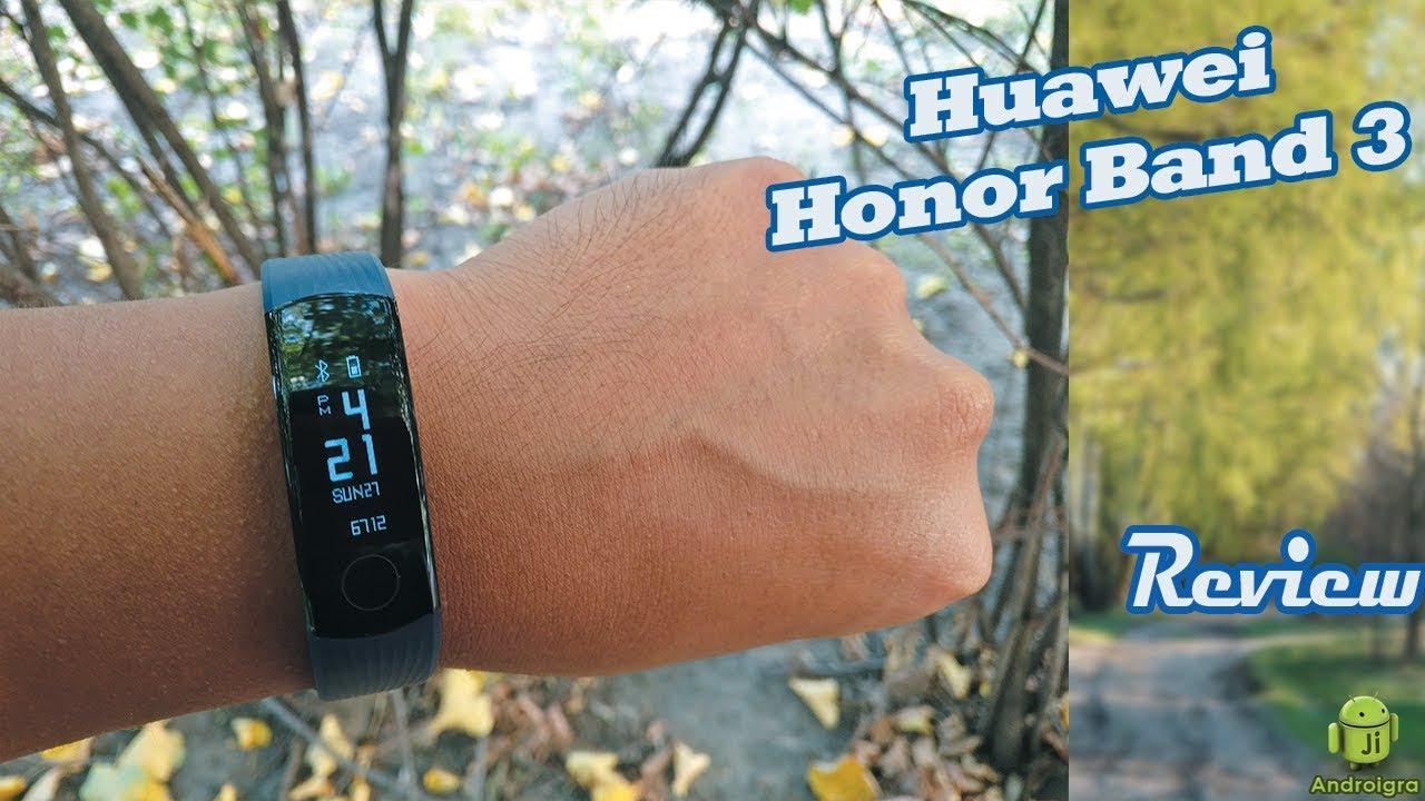 Talkband b Huawei Обзор. Honor Band 3 - La Pulsera Fitness/Anlisis
