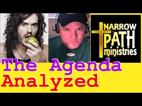 Flat Earth - Mark K Sargent and Russel Brand Interview Analyzed