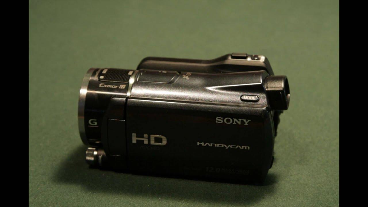 sony handycam golf shot