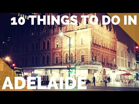 10 Things to Do in ADELAIDE, AUSTRALIA 2017! - Adelaide Oval Tour and MORE!