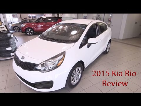 2015 kia rio specs and pricing calgary kia dealer review youtube. Black Bedroom Furniture Sets. Home Design Ideas