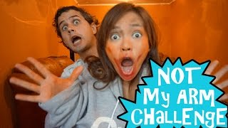 not my arm challenge feat husband