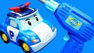 變形警車珀利 維修工具箱 玩具 變形機器人 thumbnail