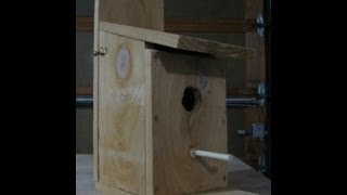 How To Make A Cedar Bird House Part One. Cutting The Pieces Out