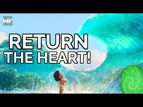 Moana Theory: Why Didn't The Ocean Return The Heart  Discovering Disney