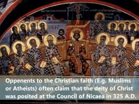 "Was the Deity of Christ Simply ""Created"" At The Council Of Nicaea?  The TRUTH"