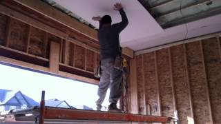 Hanging Drywall by yourself