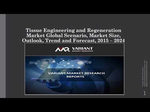 Tissue Engineering and Regeneration Market Scenario, Market Size, Trend and Forecast, 2015 – 2024