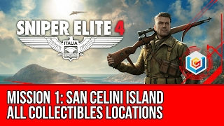Sniper Elite 4 - Mission 1 Collectibles Locations (Letters, Documents, Reports, Deadeye Targets)