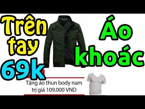 Trên Tay áo Khoác Kaki Riton Giá 69k