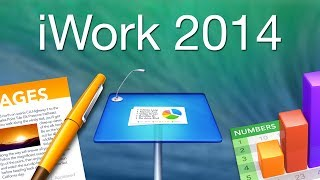 iWork 2014 Demo - Pages, Numbers, and Keynote