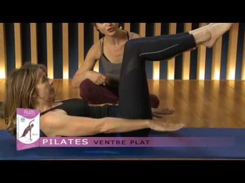 exercices de pilates pour perdre du ventre youtube. Black Bedroom Furniture Sets. Home Design Ideas