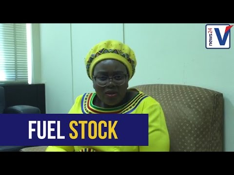 Energy Minister Mmamoloko Kubayi on the sale of fuel stock