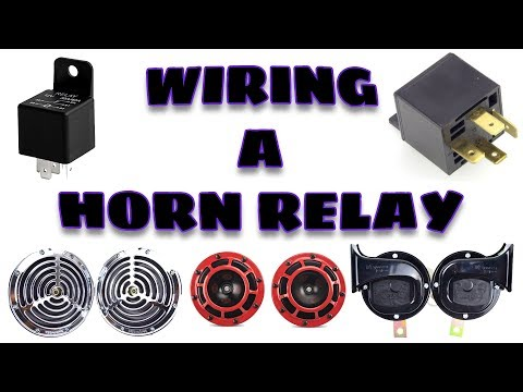 [SCHEMATICS_4LK]  How to Wire a 12V Horn Relay | Easy and Simplest - YouTube | Horn Relay Wiring Motorcycle |  | YouTube