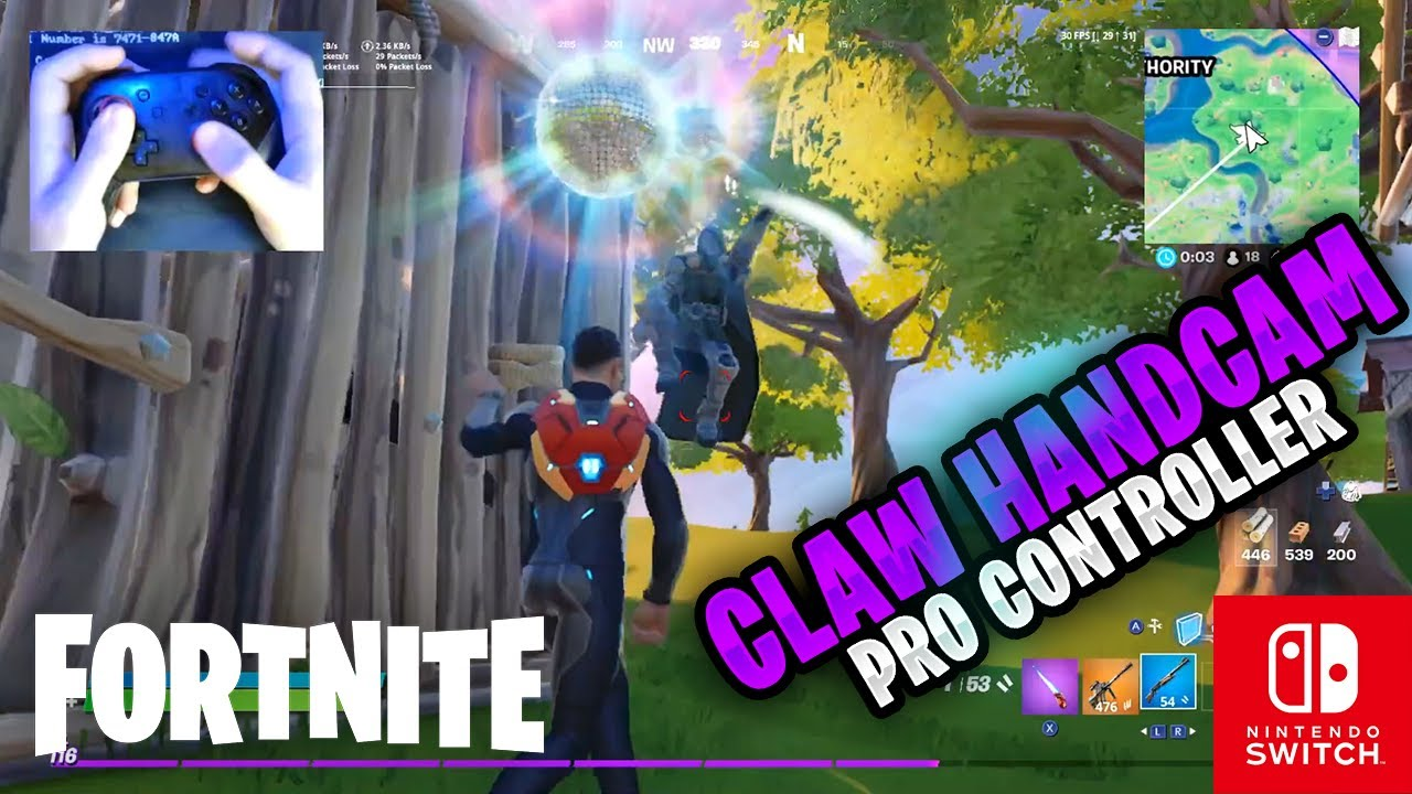 Fortnite on the Nintendo Switch Pro Controller #163