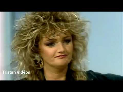 "BONNIE TYLER interview 1986"" FRANCE"""