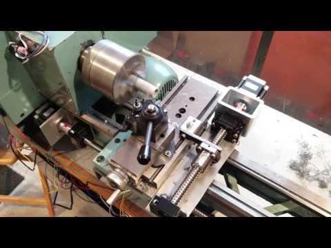 CNC Lathe Conversion Tool Change Test