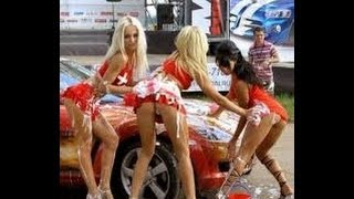 Как быстро и дешево помыть машину(краткое видео как можно быстро и дешево помыть тачилллллу в США., 2014-01-06T03:30:35.000Z)