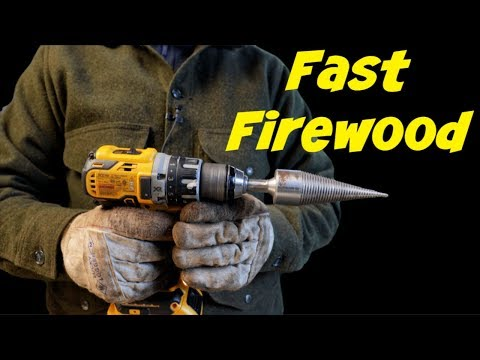 FINALLY - A Simple Way To Split Firewood