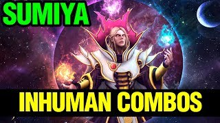 INHUMAN COMBOS! - SUMIYA INVOKER - Dota 2