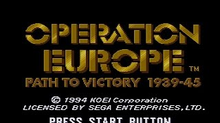 проходим Operation Europe   Path to Victory 1939 1945 SMD   серия 2