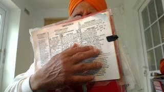 Punjabi - Functions of the Five Satgurus are outlined. Sixth Satguru Tegh Bahadur Ji was ...