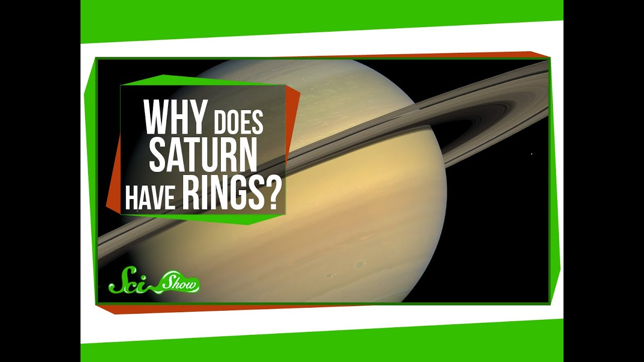 Why does Saturn have rings? - YouTube