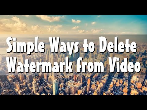 Simple Ways To Delete Watermark From Video