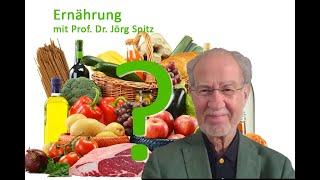 Ernährung und Gesundheit. Prof. Dr. Jörg Spitz bei den Wissenschaftsgesprächen