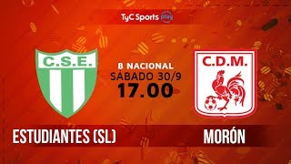 Sportivo Estudiantes vs Deportivo Moron full match