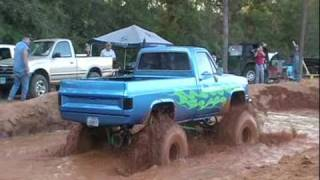 BIG BLOCK CHEVY ON ALCOHOL STUCK AT SHORTY