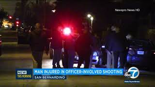 San Bernardino police shoot armed man I ABC7