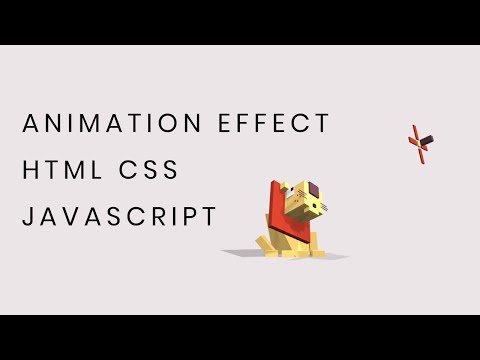 Awesome Animation Effect using HTML CSS Javascript | Web Design Inspirations